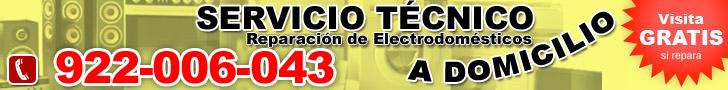 Reparacion de Electrodoméstico en Tenerife